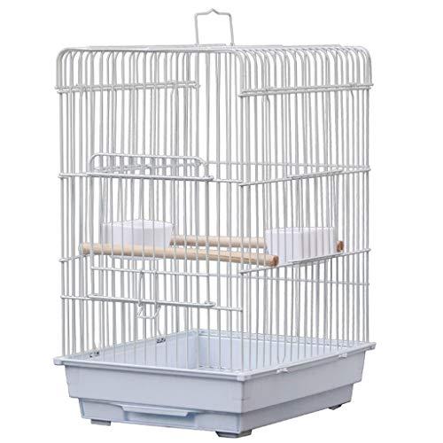 Chenhan Jaula Pájaros Jaula PáJaros Grande para Loros Parakeets Cockatiels Hierro Forjado Vuelo Grande Jaula de Pájaro con Stand Cría Vuelo Pájaros Jaulas Ligero Transpirable (tamaño : Cage)