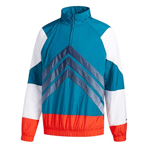 adidas adidas Herren Jacke V-Stripes Windbreaker, Rosa, XS, CE4816