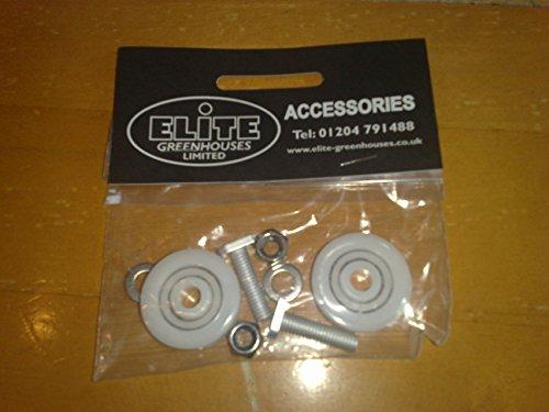Elite Gewächshaus Tür Räder - 28 mm Durchmesser