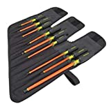 Insulated Screwdriver Set, Slotted/Phillips, 9 pcs