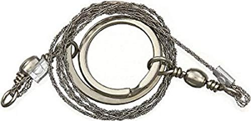 BUSHCRAFT HEAVY DUTY WIRE SAW IDEAL FOR SURVIVAL KITS SCOUTS EMERGENCY SAW POCKET SAW by MD FlashLights Etc Ltd