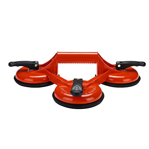 N2 Suction Lifter Glass Vacuum Cleaner 145kg Suction Cup Aluminum Alloy