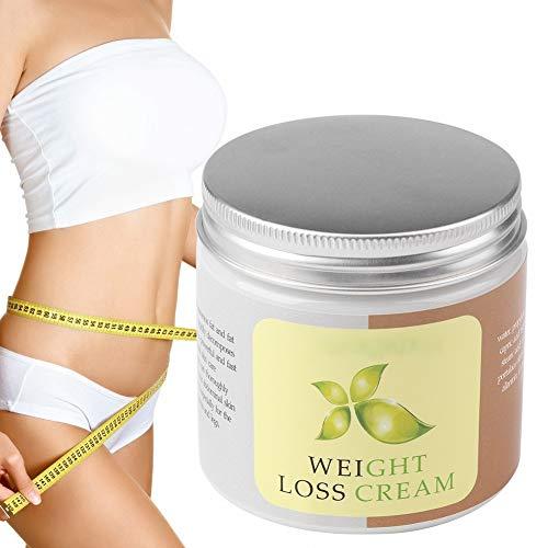 Body Fat Burning Cream, Körperfeuchtigkeitscreme und Hot Cream Fat Burner mit Pflanzenessenz für die Gestaltung von Taille, Bauch und Po