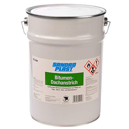 SANDROPLAST Bitumen Dachanstrich 10 Liter