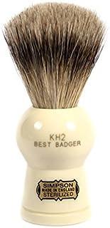 Simpsons Keyhole KH2 Best Badger Shaving Brush