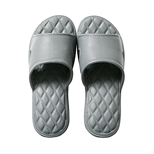 ypyrhh Comodas Piel Sandalias,Zapatillas,Zapatillas de baño con Sabor-Gris Oscuro_37-38,Sandalias con DISEÑO Casual
