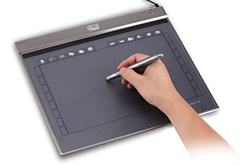 Adesso Cyber Z12 -10' x 6.25' Slim Graphics Tablet (Z12)
