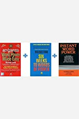 Word Power Made Easy + Instant Word Power + Six Weeks to Words of Power (Set of 3 Books) Paperback