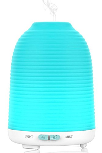 Aroma Oil Diffuser, Aptoyu Essential Oil Diffuser 120 Milliliter Aromatherapy Ultrasonic Water...