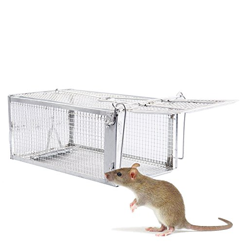 Fasmov Humane Live Small Animal Trap Cage Hamsters Moles Weasels Gophers and Other Small Rodents