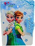 Package Contents - Pack of 1 Beautiful Disney Frozen Cartoon Character Print Secret Password Open Notebook for Girls/ A5 Diary Ruled 200 Pages/ Disney Frozen Lock Diary This durable diary has fine quality of rules papers that give you an amazing writ...