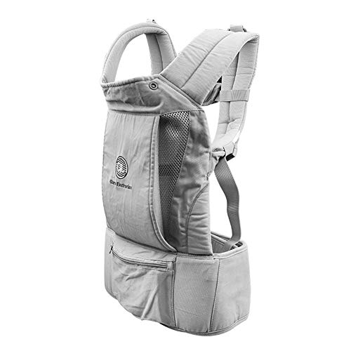 Baby Carrier - Ergonomic Baby Carrier with Hip Seat, Natural Form Baby Carrier Backpack for All Seasons Natural,All-in-One Baby Carrier, Ventilated Carrying Sling Wrap Baby Backpack Carrier for Nursi