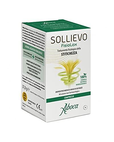 Aboca Sollievo Fisiolax 90 Compresse per il Trattamento Fisiologico dell Stipsi