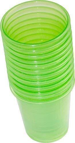 80 Stück Medikamentenbecher Medizinbecher Schnapsbecher Premium von Medi-Inn Farbe: (grün)