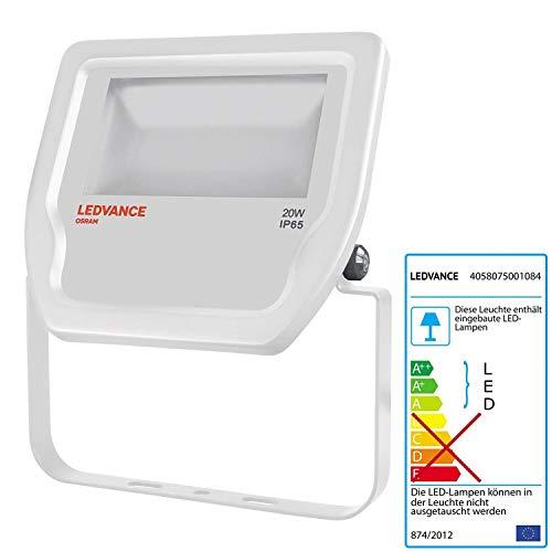 Ledvance Floodlight Led Fluter Leuchte, für Außenanwendungen, warmweiß, 155,0 mm x 167,0 mm x 44,0 mm