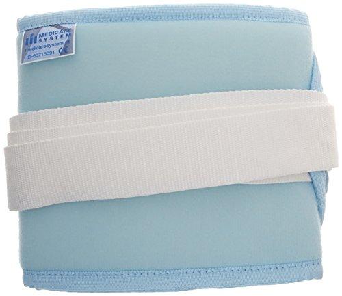 Medicare System SVC2300 Salvacel SVC230 - Cinturón de seguridad abdominal para adulto, talla L, color azul claro