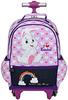 ROCO BAG KNAPSACK TROLLEY 18 with pencil case