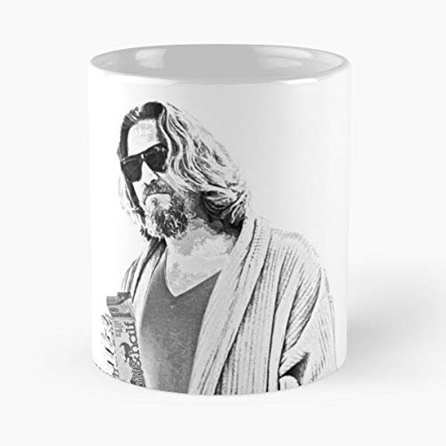 Orangeburps The Big Ten Lebowski Thebiglebowski Jeffrey Bowling Dude Best 11 oz Kaffeebecher - Nespresso Tassen Kaffee Motive