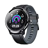 Smart Watch for Android and iOS Phone, Fitnees Tracker with 1.3' Full Touch Screen Pedometer Heart Rate Sleep Monitor Tracker IP68 Waterproof Watch for Men Women