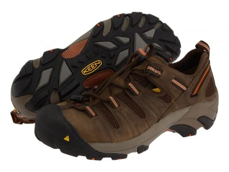 Keen Utility(キーン) メンズ 男性用 シューズ 靴 スニーカー 運動靴 Atlanta Cool - Shitake/Rust [並行輸入品]