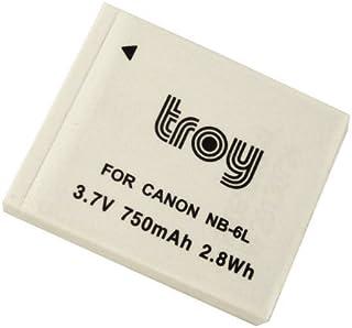 Troy Batería para Canon PowerShot SX240HS, SX260HS, SX280, Ixus 310HS, SX500IS, NB-6L, NB6L