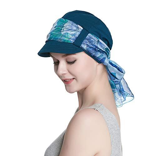Alnorm Bamboo Chemo Caps für Frauen Maler-Hut