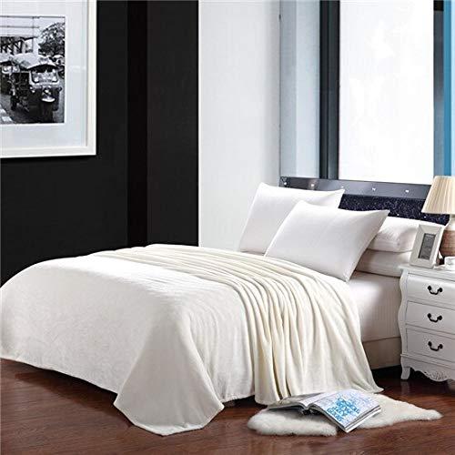 RONGXIE Neue Einfarbige Flanelldecke Bettdecke Auf Bett/Sofa /Reisedecke Erwachsene/Kinder Home Camping Bettwäsche