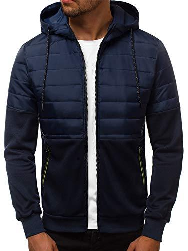 OZONEE Herren Übergangsjacke Bomberjacke Steppjacke FliegerjackeFreizeitjacke Sportjacke Modern Jacke Sportswear Frühlingsjacke...