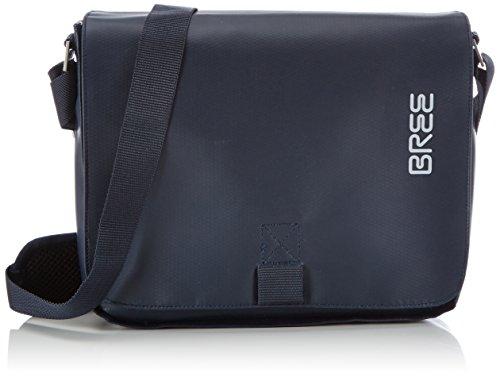 BREE Pnch 61, blue, shoulder bag 83251061 Unisex-Erwachsene Schultertaschen 26x6x21 cm (B x H x T), Blau (blue 251)