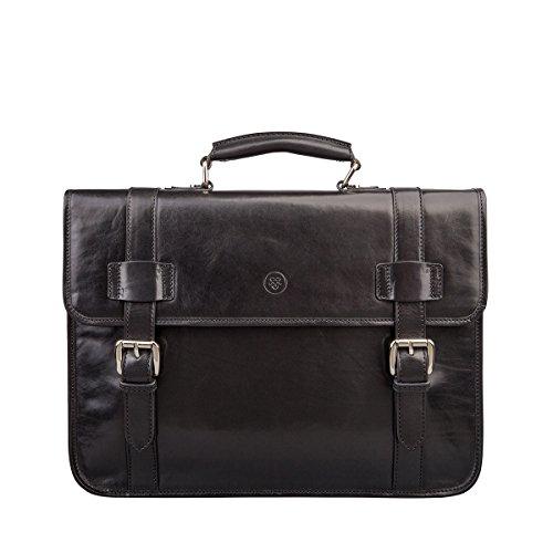 Maxwell Scott Bags® Hochwertige Aktentasche