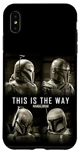 iPhone XS Max Star Wars: The Mandalorian This Is The Way Box Up Fade C2 Case