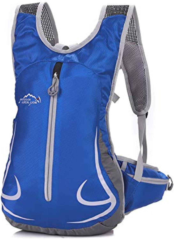 SQB Ruckscke Running Rucksack, Wasserbeutel, Rucksack, Outdoor-Schultern, Cross-Country-Gepck, Trompete für Mnner und Frauen 15 Liter wasserdicht Wanderrucksack
