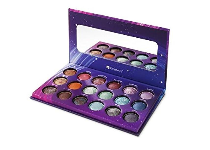 部門ベッド混乱したBH Cosmetics Galaxy Chic Baked Eyeshadow Palette 18 Colors (並行輸入品)