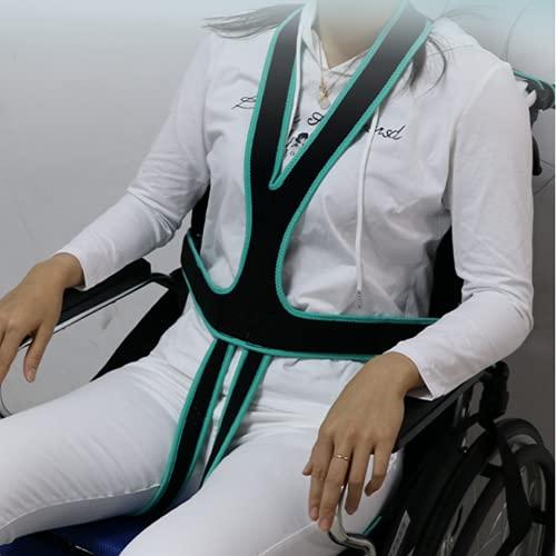 Cinturón de seguridad para sillas de ruedas Arnés de seguridad ajustable para sillas de ruedas Restricciones médicas arnés en el pecho Para ancianos mayores los discapacitados.