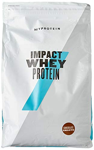 Myprotein Impact Whey Protein Powder. Muscle Building Supplements For Everyday Workout With Essential Amino Acid And Glutamine. Vegetarian, Low Fat And Carb Content - Chocolate Smooth, 5kg