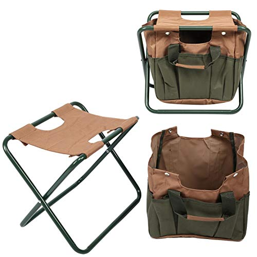 Klappstuhl, Campinghocker, 600D Oxford Stoffmaterial, robust und langlebig, Klappstuhl mit Reisetasche, Campingstuhl Klappstuhl, Camping Tasche