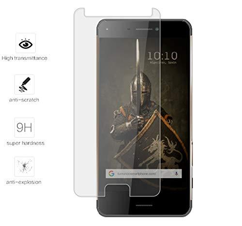 Tumundosmartphone Protector Cristal Templado para HISENSE C30 Rock Vidrio