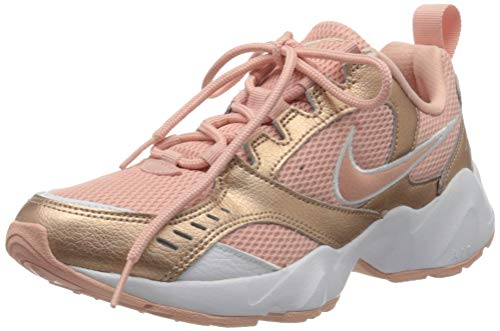 Nike Wmns Air Heights, Walking Shoe Donna, Coral Stardust/Coral Stardust, 40.5 EU