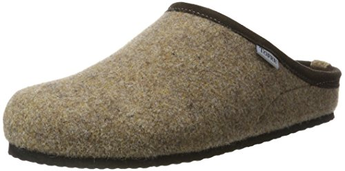TOFEE Herren 74-BOR1 Pantoffeln, Beige (Beige), 41 EU