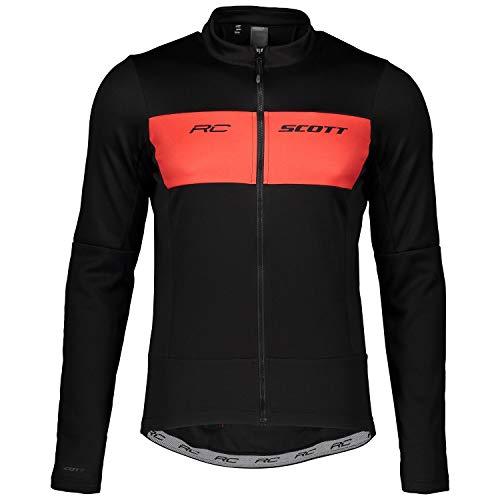 Scott 271573 Herren Fahrrad, Blk/Fiery rd, L