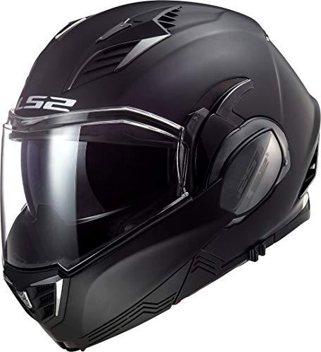LS2 FF900 Valiant II Solid Helm Schwarz Matt XXXL (65/66)