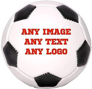 Personalized Custom Photo Regulation Full Size Soccer Ball - Any Image - Any Text - Any Logo