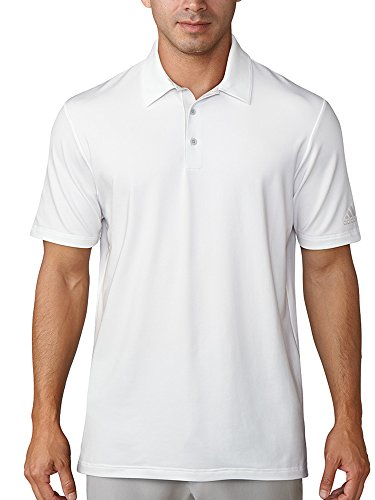 adidas Ultimate 365 White Polo, Blanco (Blanco CD3337), Small (Tamaño del Fabricante:S) para Hombre