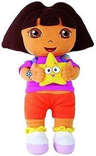 Tickles Multicolor Dora Soft Doll Stuffed Soft Plush Toy Love Girl 30 Cm