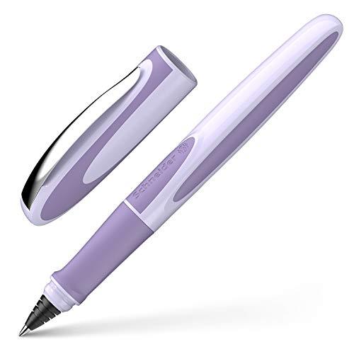 Schneider Ray Tintenroller (Nachfüllbar mit Standard Tintenpatronen, geeignet für Rechts- und Linkshänder) lavender