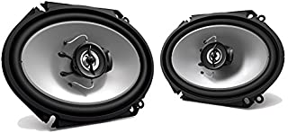 2 New Kenwood KFC-C6865S 6x8 250 Watt 2-Way Car Audio Coaxial Speakers Stereo photo