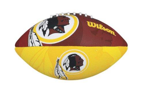 WILSON NFL Junior Team Logo Football (Washington Redskins)