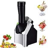 Máquina de helado eléctrica portátil multifuncional Haga deliciosos sorbetes de helado y máquina...