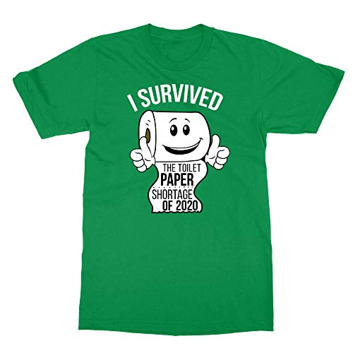 Sheki Apparel Coronavirus 2020 Toilet Paper Shortage Covid 19 Humor Men's T-Shirt (Green, Large)