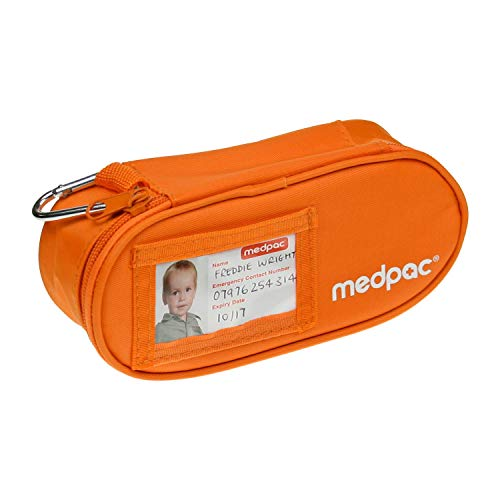 Small Medpac Medicine Bag | The Original | Store & Carry Medication for Diabetes, Epilepsy & Asthma | Inhalers, Epipens, Insulin & more | For Kids & Adults at School, Hospital, Travel & Sports
